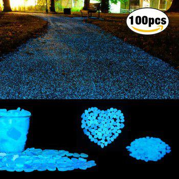 Cozzine Glow in The Dark Pebbles Luminous Cobblestones