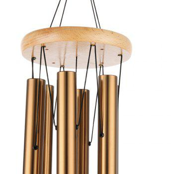 COZZINE Musical Aluminum Wind Chime Decor - COPPER COLOR COPPER COLOR