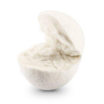 COZZINE 2.8 Inches Wool Dryer Ball Set of 6 - BEIGE