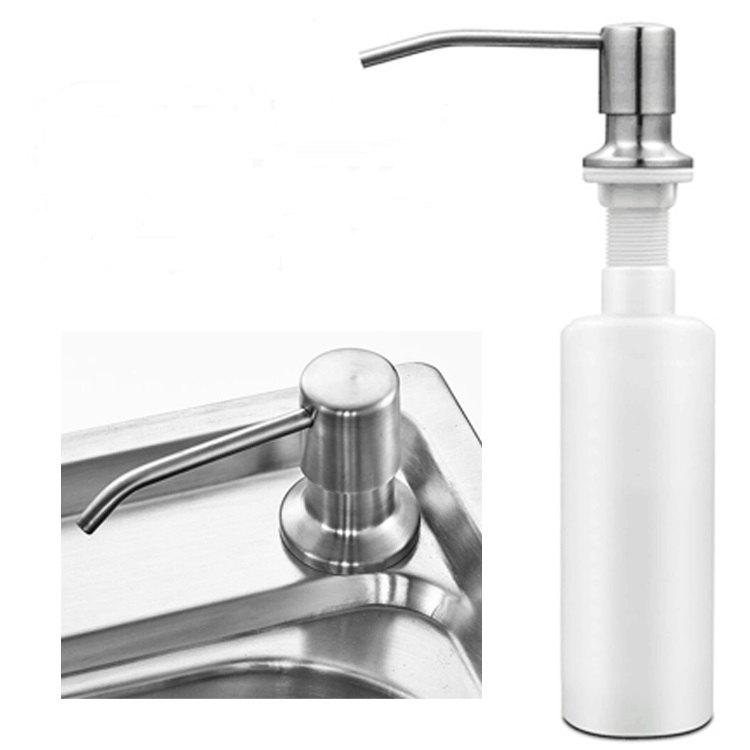 COZZINE 7001 Stainless Steel Sink Soap Dispenser - SILVER