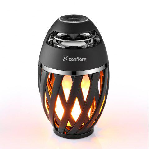 zanflare A1 Flame Bluetooth Speaker Lamp - BLACK