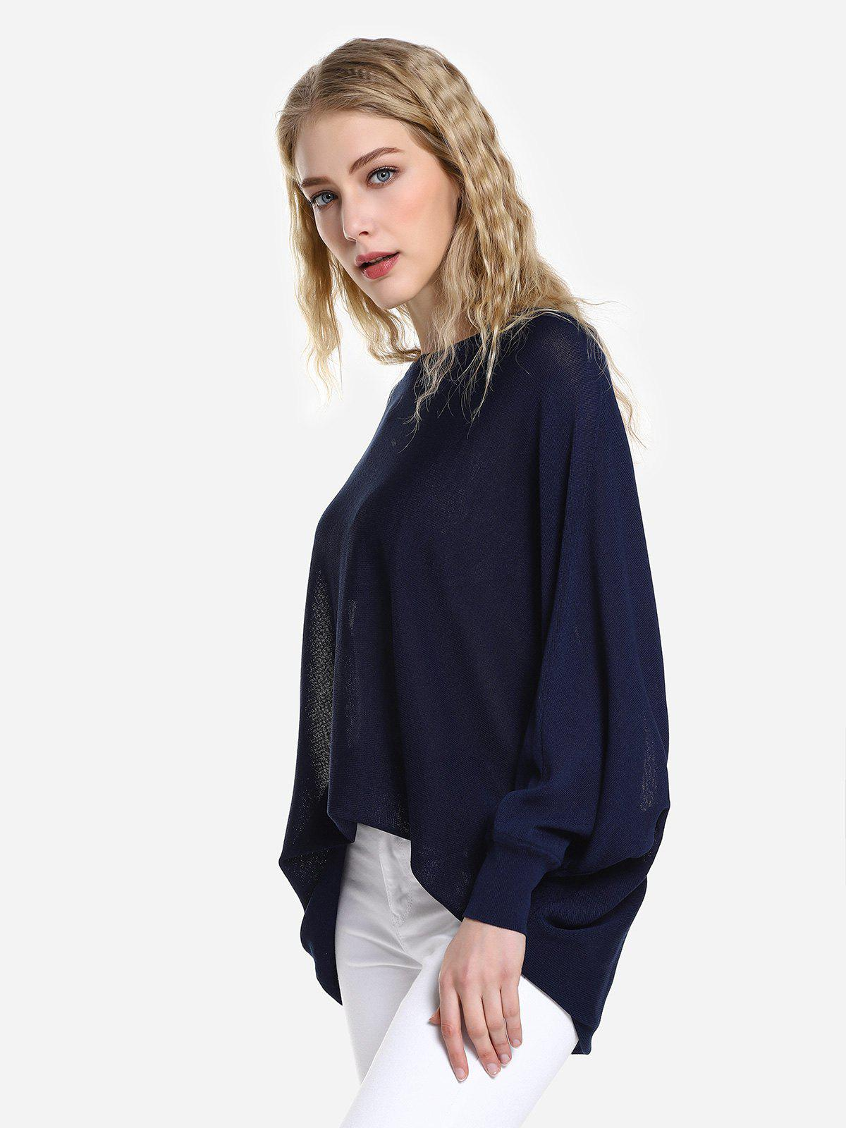ZAN.STYLE Long Sleeve Round Neck Top
