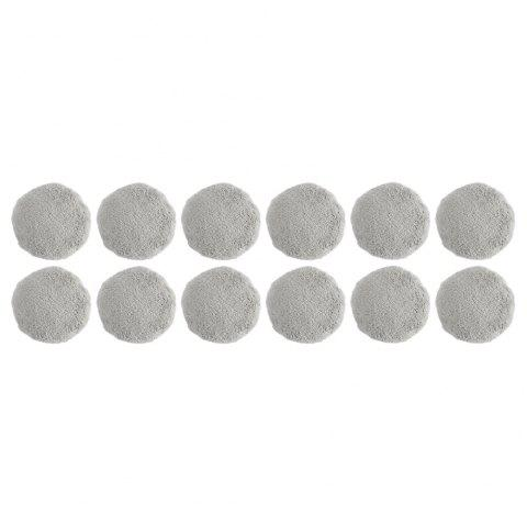 Alfawise S60 Window Cleaner Cleaning Pad Set of 12 - GRAY