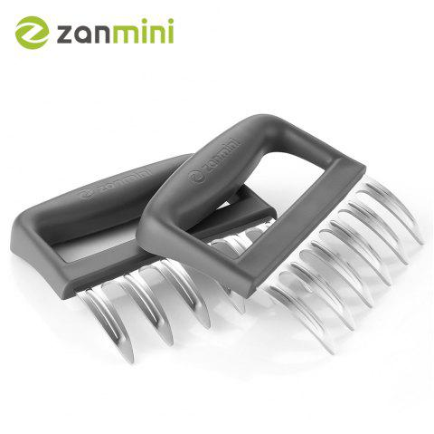 zanmini ZMMC2 Stainless Steel Claw Meat Mincer Set of 2 - GRAY
