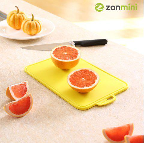 zanmini Color-coded Food Graded PP Cutting Board - YELLOW