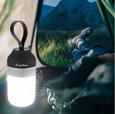 zanflare Portable Outdoor Smart Speaker Light - WHITE/BLACK