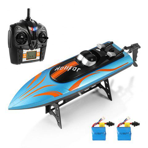 helifar H112 RC Boat With Two Batteries - BLUE KOI