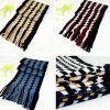 Knitted Striped Plaid Cashmere Scarf New Business Scarf Autumn And Winter Warm Scarf Men - RANDOM MIXED COLOR