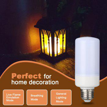 Lampwin LED Flame Effect Fire Light Bulbs,Creative Lights with Flickering Emulation,Vintage Atmosphere Decorative Lamps, Simulated Nature Gas Fire in Antique Hurricane Lantern,1 Pcs - WHITE 1800-2000K
