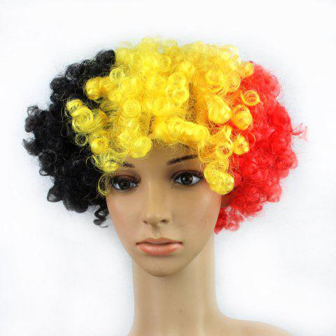 2018 football World Cup Country football fan wig football fun wig - 3 BELGIUM