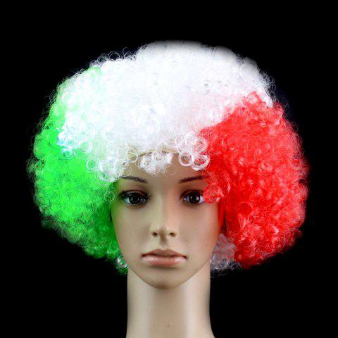 2018 football World Cup Country football fan wig football fun wig - 9 ITALY(MEXICO)