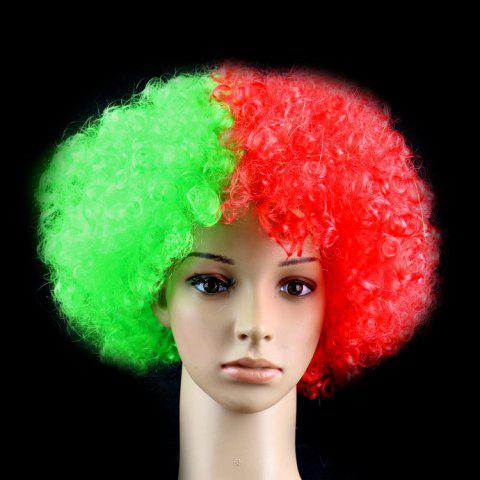 2018 football World Cup Country football fan wig football fun wig - 11 PORTUGUESA