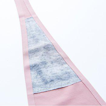 Invisible Panty Cat Pattern Self Adhesive C-String Strapless Panties - PINK L