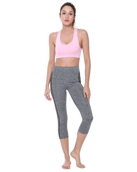 BELLEZIVA Women 2 Piece Set Tracksuit Running Yoga Set - PINK M