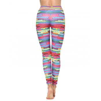 Woman Fashion Sports Tight Mesh Skinny Leggings Gym Pants for Yoga Running Workout Pants Sports Legging - ACU CAMOUFLAGE L