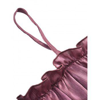 Women Sexy Shoulder-Straps  Elastic Fashion Bra - PINK L