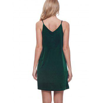 Olive Green Suspender Dress - HUNTER 2XL