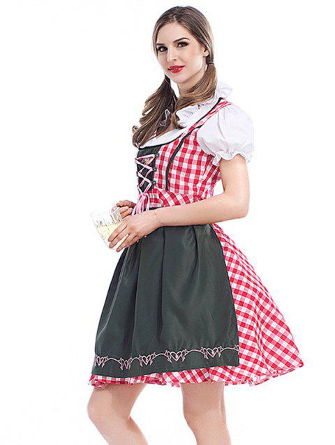 Ladies' Cosplay Costume  Beer Costume Maid - GRID XL