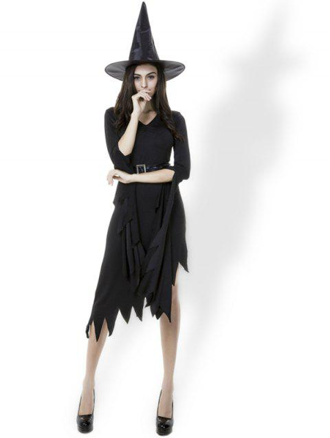 2019 Halloween Costumes Witch Women's Black