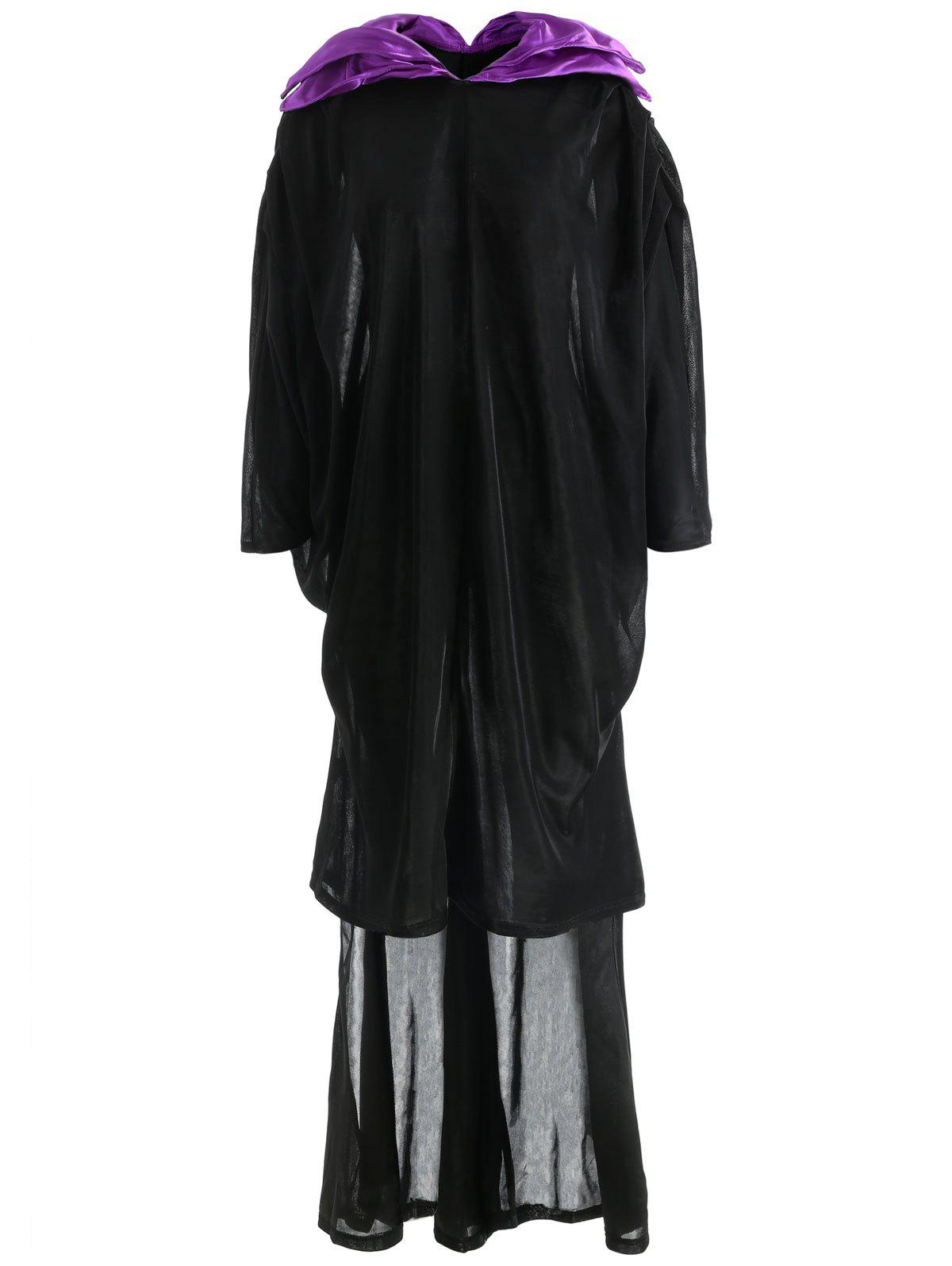 Cosplay Costumes Witch Festival/Holiday Halloween Costumes - BLACK ONE SIZE