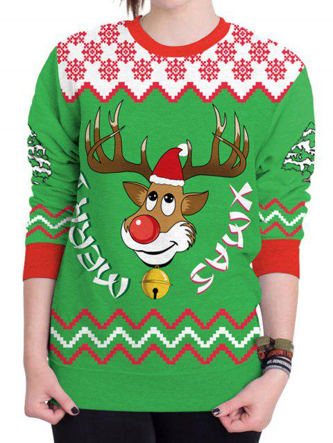 d9b770686c0 41% OFF  2019 Christmas Sweater Humping Reindeer Funny Sweatshirt In ...