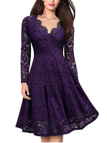c1eae17126a7 2019 Purple Swing Dress Online Store. Best Purple Swing Dress For ...