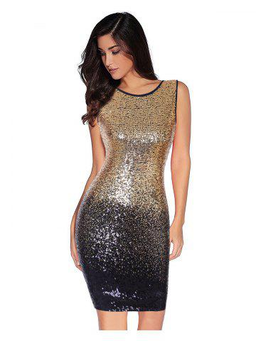 c0580f08443 Women s Sexy Backless Sequin Glitter Bodycon Stretchy Club Mini Party Dress