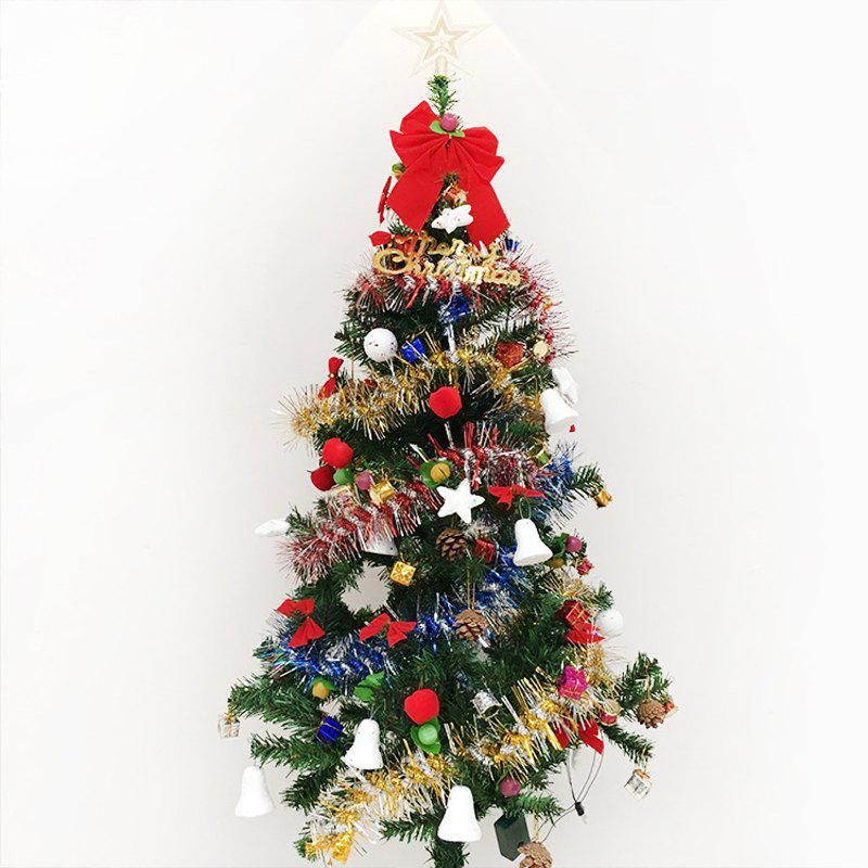 MCYH 1PC 1.5m / 150cm Luxury Encryption Christmas Tree Decoration New Year Gift - COLORMIX