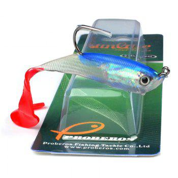 Colorful Soft Fish Road Bait - COLORMIX