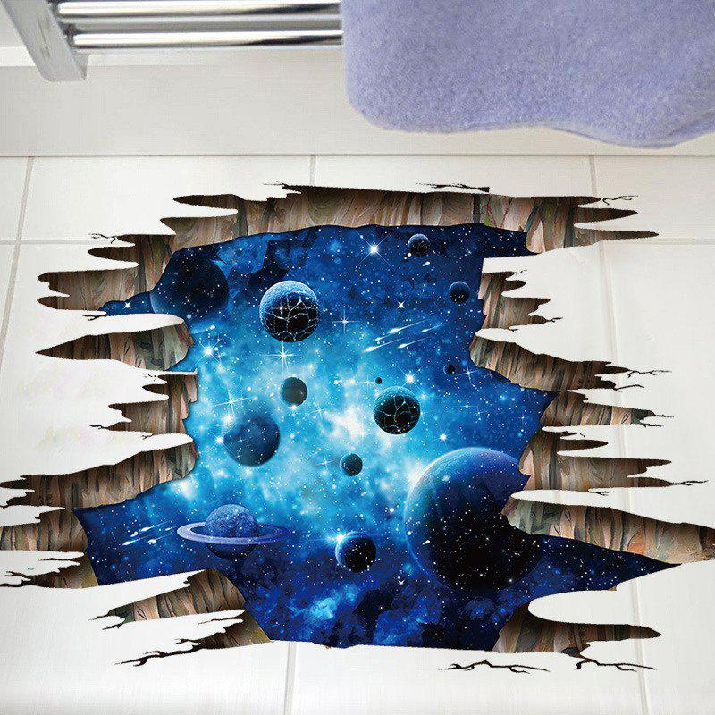 Home Decoration 3D Galaxy Planet Removable Wall Stickers for Decor halloween decoration horror witch removable wall stickers for wall decor