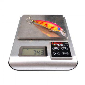 8PCS 8.2cm Classic Road Sub-fish Bait Luya Bionic Meters -  COLORMIX