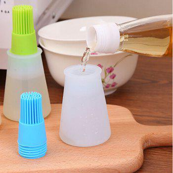Macroart 1PC Grill Oil Bottle Brushes Tool Heat Resisting Silicone BBQ Basting Oil Brush Barbecue Cooking Pastry -  COLOR ASSORTED