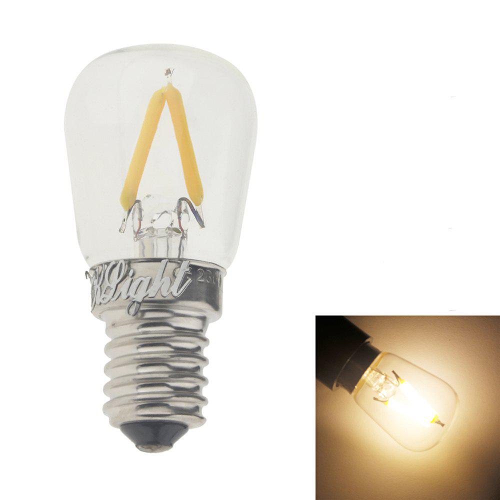 YouOKLight 1PC E14 2W AC 220V Warm White LED Ampoule Transparent - Blanc Chaud