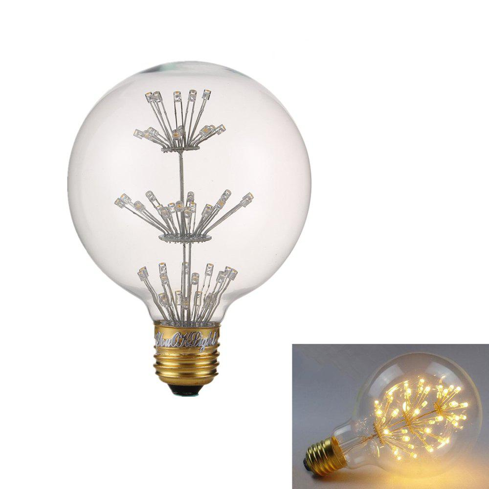 YouOKLight 1PC E27 3W 47LED G80 Decorative Bulb Warm White - WARM WHITE LIGHT