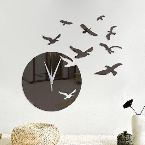 limited offer] 2019 diy seagulls acrylic mirror wall stickers wall