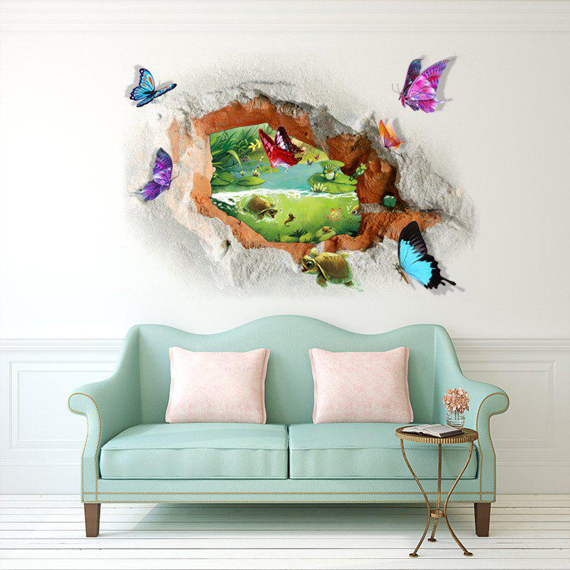 Home Decoration 3D Landscape Removable Wall Stickers for Wall Decor wall decal 3d mural a corner of removable wall stickers for wall and ceiling home decor
