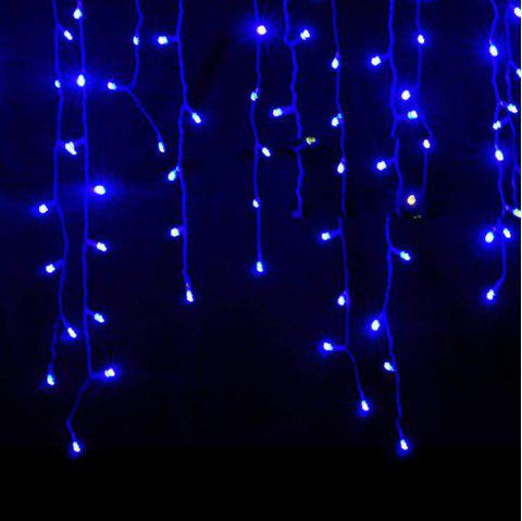 kwb led christmas lights outdoor decoration lights 35m droop led curtain icicle string lights white
