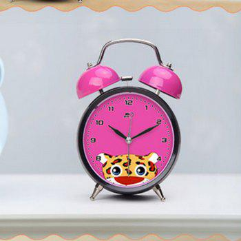 May Time Leopard Kids Alarm Clock with Night Light - FLAME
