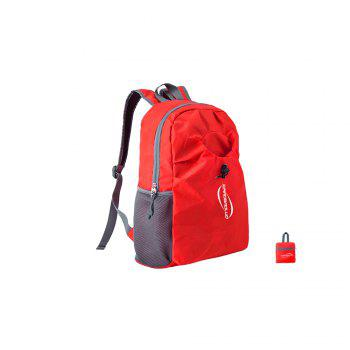 Foldable Hiking Backpack Travel Daypack Schoolbag Running Camping Fishing Bag - AMERICAN BEAUTY AMERICAN BEAUTY