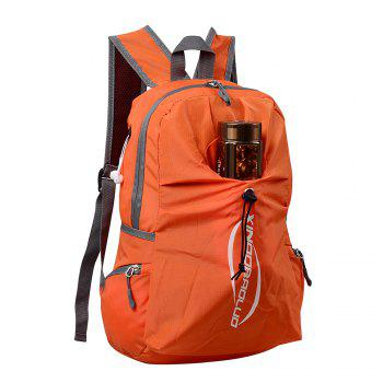 20L Most Durable Packable Lightweight Travel Hiking Backpack Daypack - ORANGE