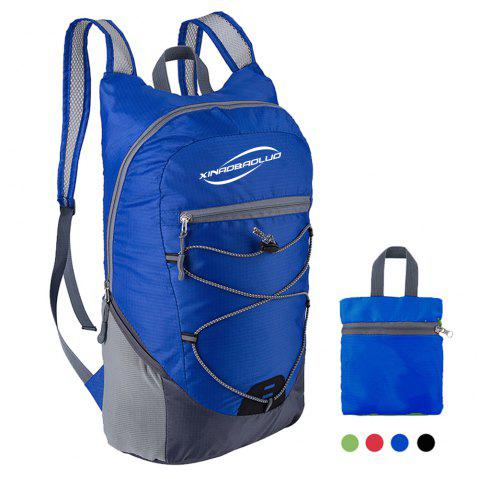 XINAOBAOLUO Ultra Lightweight Outdoor Hiking Backpack 20L for Travel Camping Hiking School Sports - BLUE