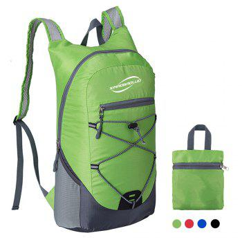 Ultra Lightweight Outdoor Hiking Backpack 20L for Travel Champing Hiking School Sports - GREEN GREEN