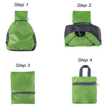 XINAOBAOLUO Ultra Lightweight Outdoor Hiking Backpack 20L for Travel Camping Hiking School Sports - GREEN