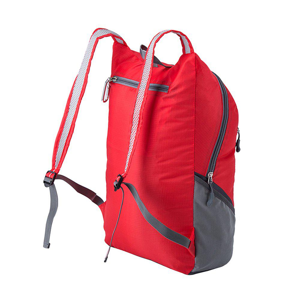 Ultra Lightweight Outdoor Hiking Backpack 20L for Travel Champing Hiking School Sports - RED