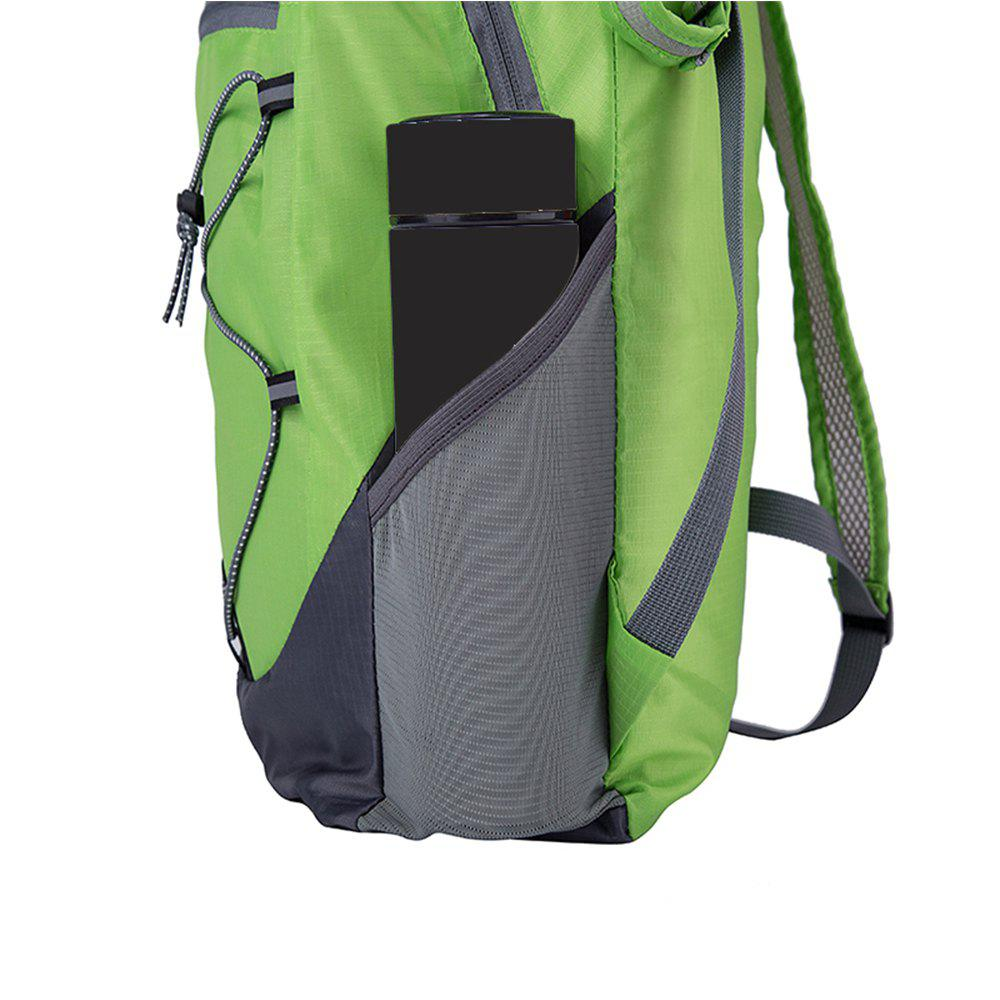 Ultra Lightweight Outdoor Hiking Backpack 20L for Travel Champing Hiking School Sports - GREEN