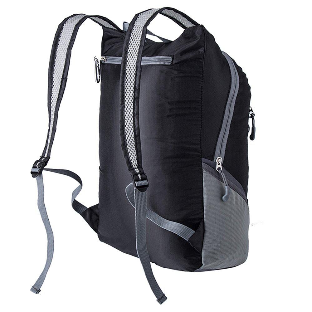 Ultra Lightweight Outdoor Hiking Backpack 20L for Travel Champing Hiking School Sports - BLACK