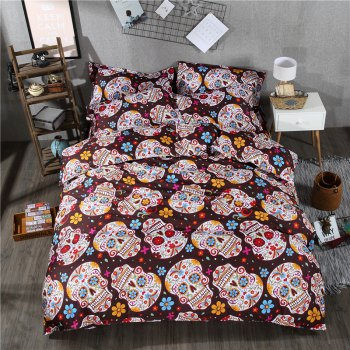 2pcs Fashion Personalized 3D Polyester  Bedding Set Twin
