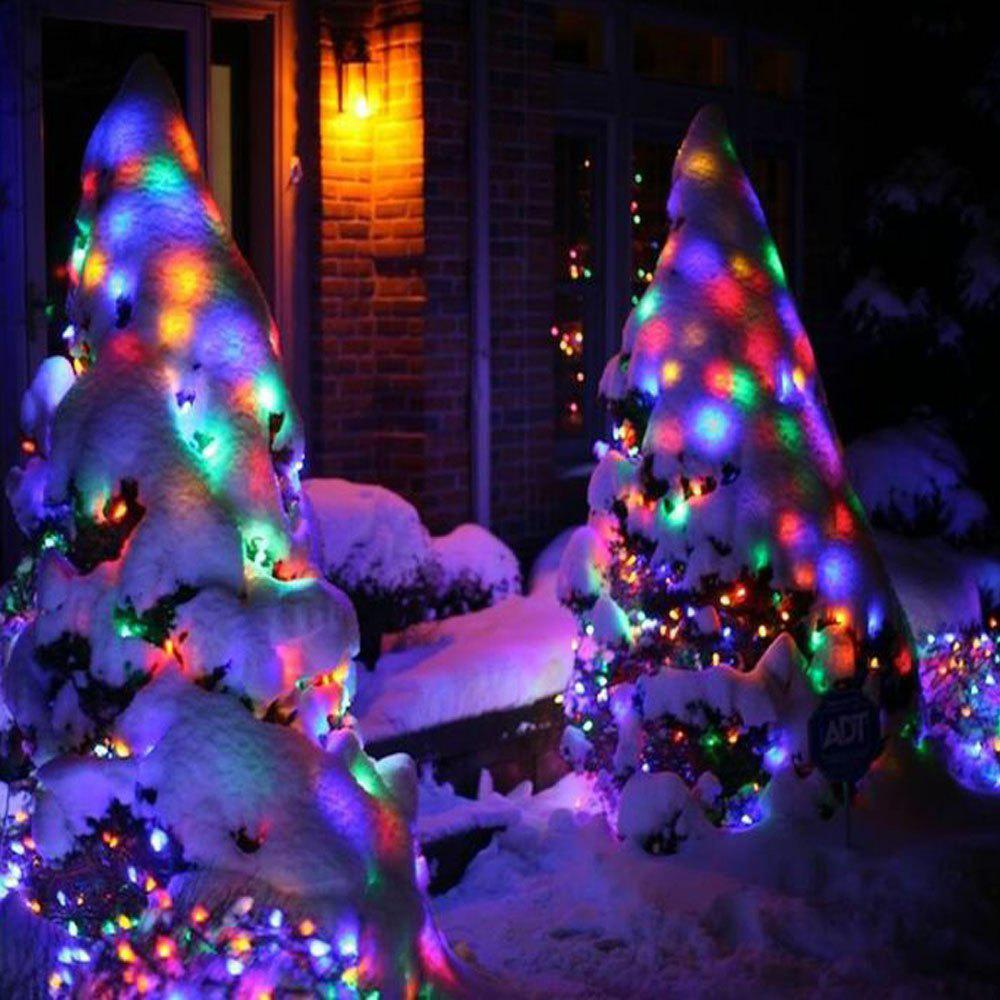 17 Off 2020 Kwb Led Solar Christmas Lights 7m 50balls Fairy Decorative String Lights For Holiday Decorations In Rgb Dresslily