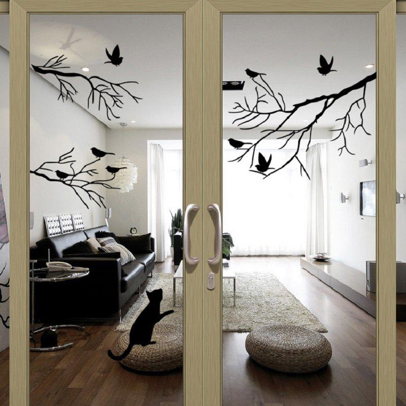Bird Tree Branch Wall Stickers Wall Decal Removable Art Home Mural bird tree branch wall stickers wall decal removable art home mural