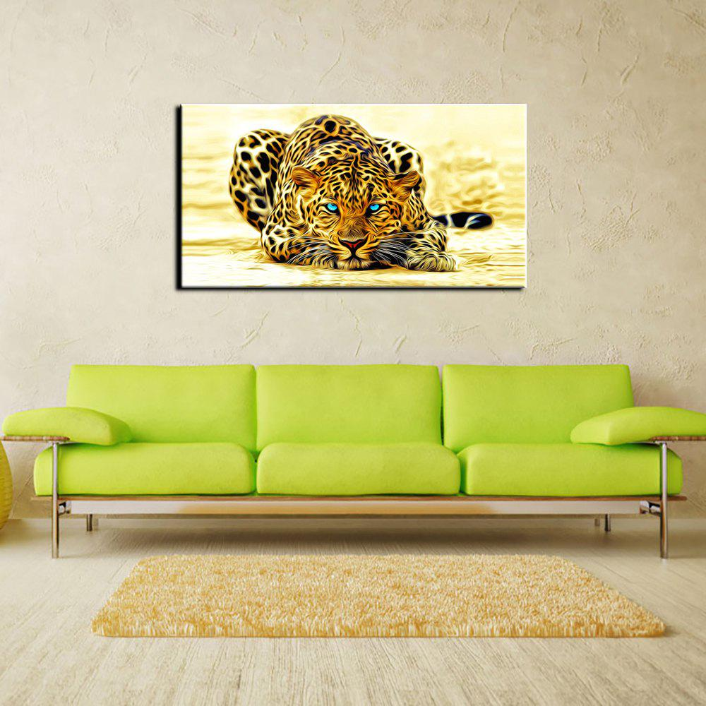 2018 YHHP Animal Leopard Picture Print Modern Wall Art on Canvas ...